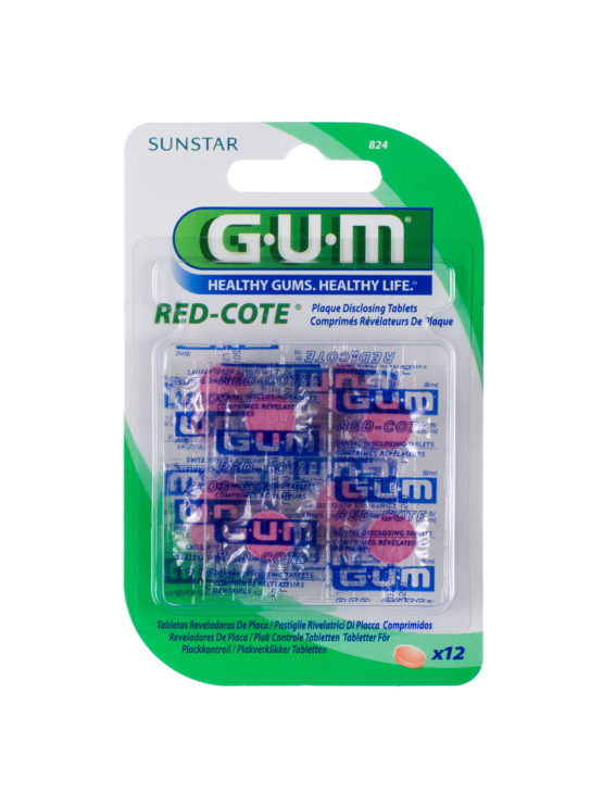 GUM RED-COTE DISCLOSING TABLETS
