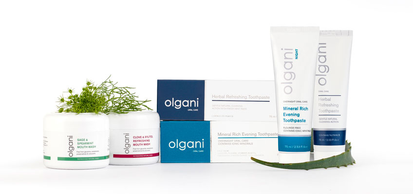 Olgani - the Smart, Natural Approach to Oral Health Care