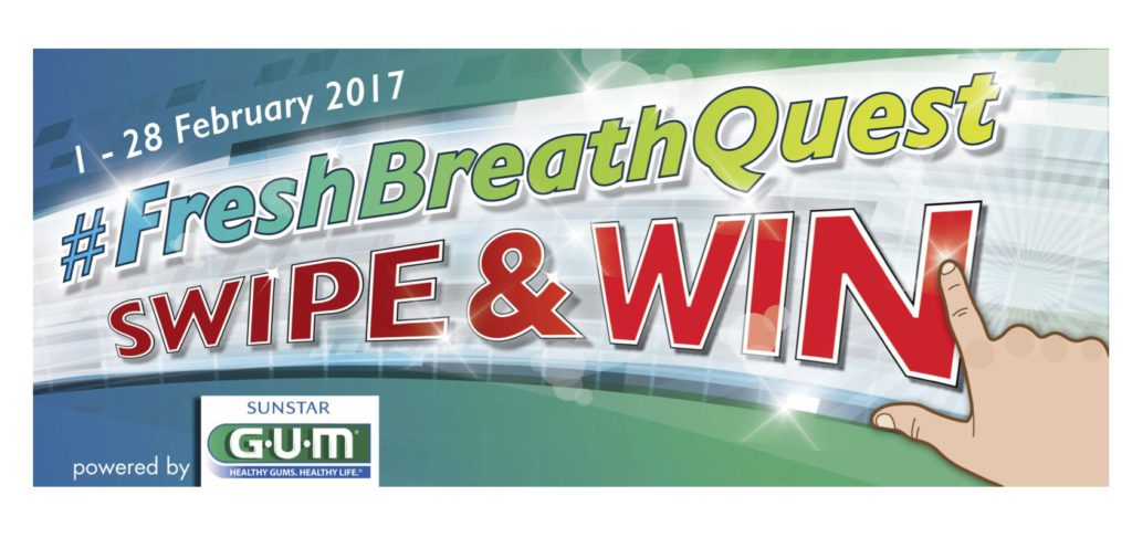 The quest for fresh breath February's #FreshBreathQuest
