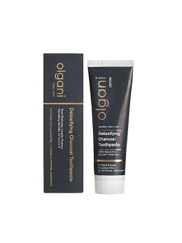 OLGANI DETOXIFYING CHARCOAL TOOTHPASTE Olgani, the South African creator of all-natural oral care products, proudly introduces their new Detoxifying Charcoal Toothpaste.