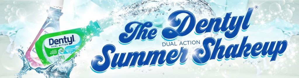 Dentyl Dual Action - Shake it up & get fresh this summer