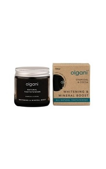 OLGANI CHARCOAL & MIGHTY COCOA TOOTHPOWDER 100ML